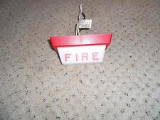 Simplex fire alarm dome light