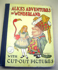 ALICE'S ADVENTURES In WONDERLAND,1917,Louis Carroll,Illust