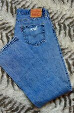VTG Levi's Levi Strauss 501 Jeans Button Fly Stonewash Red Tab 34x36