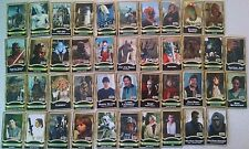 SET OF 42 STAR WARS FORCE FILE BOOKLETS Power Of Jedi Lot figure pack in book