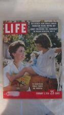 Life Magazine February 3rd 1958 Shirley Temple & Daughter Publisher Time   mg614