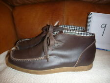 DEAKINS SIZE UK 9 BROWN LEATHER BOOTS ANKLE MENS