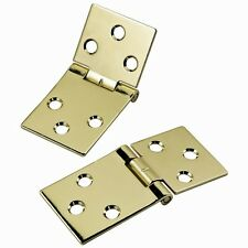 Brass-Plated Drop Leaf Hinges for Shaped Edges - Hardware > Project Hardware ...