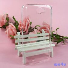 For Samsung Galaxy Note 2 II N7100 Clear Transparent TPU Thin Hard Case Cover