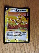 Duel Masters TCG - DM-01 Base Set - Holo Foil Rayla, Truth Enforcer 15/110