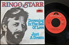 RINGO STARR (The Beatles) SINGLE MADE IN PORTUGAL 45 PS 7 POLYDOR * DROWING *
