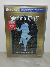 DVD + CD JETHRO TULL - LIVING WITH THE PAST - SEALED SIGILLATO