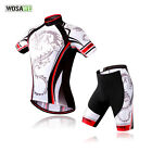 NEW Mens Sport Team Cycling Bike Comfortable Clothing Jersey Shirts + Short Pant