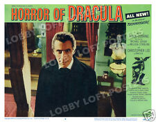 HORROR OF DRACULA LOBBY SCENE CARD # 4 POSTER 1958