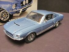 GMP 1967 Ford Shelby GT500 Mustang - Brittany Blue 1/24 Scale Diecast, MIB!