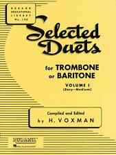 """RUBANK """"SELECTED DUETS"""" VOLUME 1 FOR TROMBONE MUSIC BOOK BAND BRAND NEW ON SALE!"""