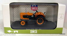 Universal Hobbies 1/43 Scale 6054 Someca 40H 1961 Orange diecast model tractor