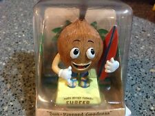 New Coconut Hula Dancer Dashboard Doll Bobblehead * Nuts About Hawaii *