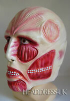 Anatomy Muscle Full Overhead Latex Rubber Mask Fancy Dress Halloween Costume