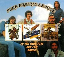 If the Shoes Fits/Just Fly/Dance [Digipak] by Pure Prairie League (CD,...