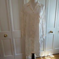Gorgeous La Perla Ivory Satin Nightshirt-Marked S but Much Larger – NWT $575