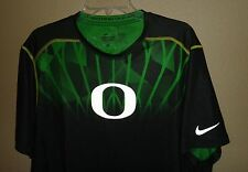 NEW MENS XL NIKE DRI-FIT PRO COMBAT OREGON DUCKS FOOTBALL TEAM SHIRT RARE