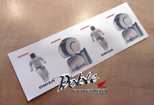 New Collectors Rare Unusual Genuine Honda Asimo Kids 4 x Temporary Tattoo Set