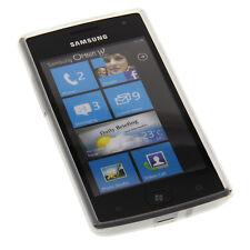 Silicon Case milchig transp. für Samsung Omnia W i8350