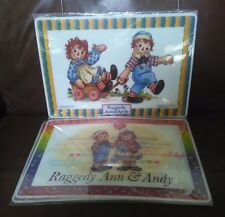 Raggedy Ann & Andy  Place mats - Set of 6