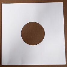 "50 x 10"" / 78 rpm WHITE PAPER INNER SLEEVES FREE P&P^"