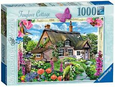 RAVENSBURGER PUZZLE*1000 TEILE*COUNTRY COTTAGE 7*FOXGLOVE COTTAGE*RARITÄT*OVP