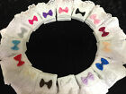 NEW BABY/GIRLS WHITE/IVORY FANCY FRILLY ANKLE SOCKS OCCASION/PARTY PINK-RED-GREY