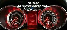 ALL SPEEDOMETER CLUSTER VIN ODOMETER MILEAGE CORRECTION PROGRAMMING SERVICE