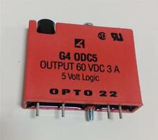 OPTO 22 5V LOGIC RELAY G4 0DC5 LOT OF 4