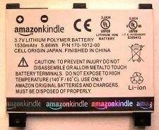 Batterie D'ORIGINE AMAZON KINDLE 2 170-1012-00 S11S01A
