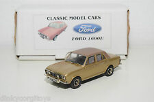 . CLASSIC MODEL CARS PATHFINDER? FORD CORTINA MKII MK11 1600E MIB RARE!!!