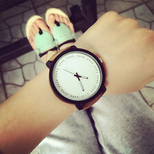 Fashion Lovers Watch Men Women Leather Strap Quartz Analog Wrist Watch Watches