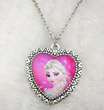 2016Hot FROZEN PENDANT Silver Plated CHAIN NECKLACE ROYAL PRINCESS Y4