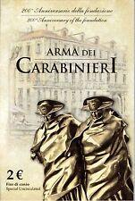 2 Euro commémorative de Italie 2014 Brillant Universel (BU) - Carabiniers