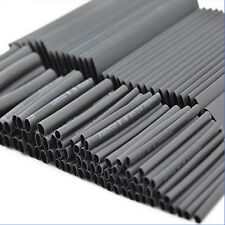 1 Set 127Pcs Black Heat Shrink Wrap Tube Electrical Connection Cable Sleeving