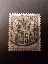 FRANCE - timbre CLASSIQUE 97, type Sage, oblitéré, cancel OLD STAMP, LOT 05