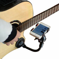Guitar Sidekick Smart Phone Holder Stand Support Mount for iphone 6s Samsung s6