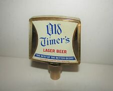 LITHIA BEER / OLD TIMER'S BEER tapknob tg 1950's WEST BEND, WISCONSIN
