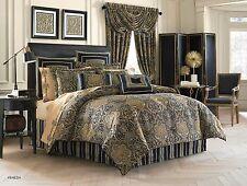 J. Queen New York Venezia Teal King 4 Pc Comforter Set