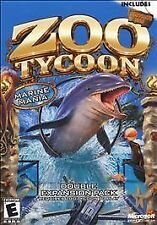 *NEW/SEALED* ZOO TYCOON 2: MARINE MANIA Expansion Pack PC Video Game Windows