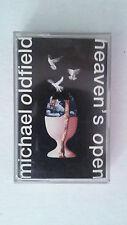"""MICHAEL OLDFIELD """"HEAVEN'S OPEN"""" SPANISH CASSETTE"""