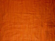 TEX EX 463 RAIN STRIPE 100% SILK RUST ORANGE RED CURTAIN SOFT FURNISHING FABRIC