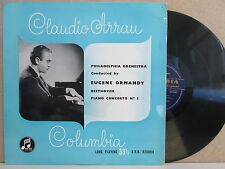 33CX 1080 B/G UK- CLAUDIO ARRAU Beethoven Piano Concerto No.3 LP (ormandy)
