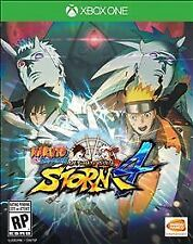 Xbox One 1 Naruto Shippuden Ultimate Ninja Storm 4 NEW Sealed Region Free USA
