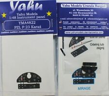 Yahu Models YMA4822 1/48 PE PZL P.23 Karas instrument panel Mirage