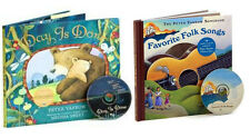 FAVORITE FOLK SONGS & DAY IS DONE (hc + CDs) by Peter Yarrow 2 Book Set NEW