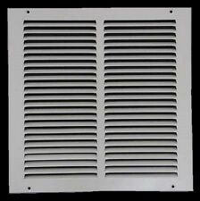 Air Return Vent Cover Grille 20 x 14 White Steel Wall Ceiling Sidewall Duct NEW!