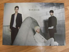 M-BLAQ - MIRROR : 8TH MINI ALBUM [ORIGINAL POSTER] *NEW* K-POP MBLAQ