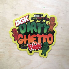 DGK Dirty Ghetto Kids skateboard sticker decal vinyl Sour Patch Kids candy SK8