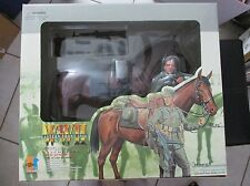 Horst and Blitz 1/6 Scale WW2 German Wehrmacht Cavalry Soldier with Horse Dragon